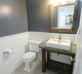 Diy Pottery Barn Vanity, Bathroom Ideas, Diy, Small Bathroom Ideas,  Woodworking Projects