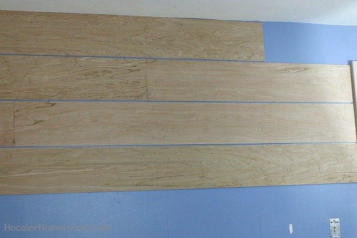Shiplap Wall for UNDER $40   Hometalk