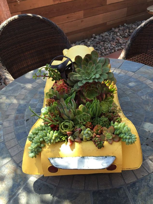 Famous Swap Meet Find Becomes Unique Vintage Succulent Planter | Hometalk IS95