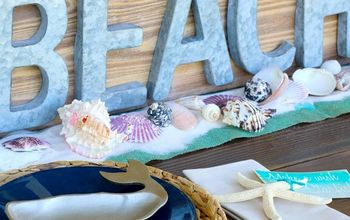 Beach Tablescape Summer Celebration