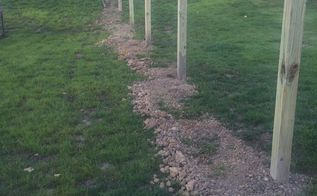 diy privacy fence in backyard, fences, outdoor living