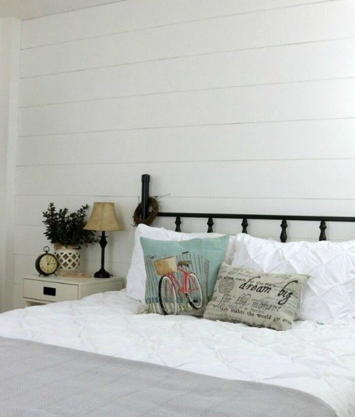 s 12 shiplap ideas that are hot right now, home decor, wall decor, Hide the seams for full planked style