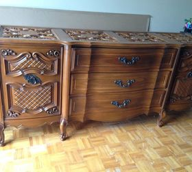 How To Paint Furniture From Brown To Black, Bedroom Ideas, How To, Painted