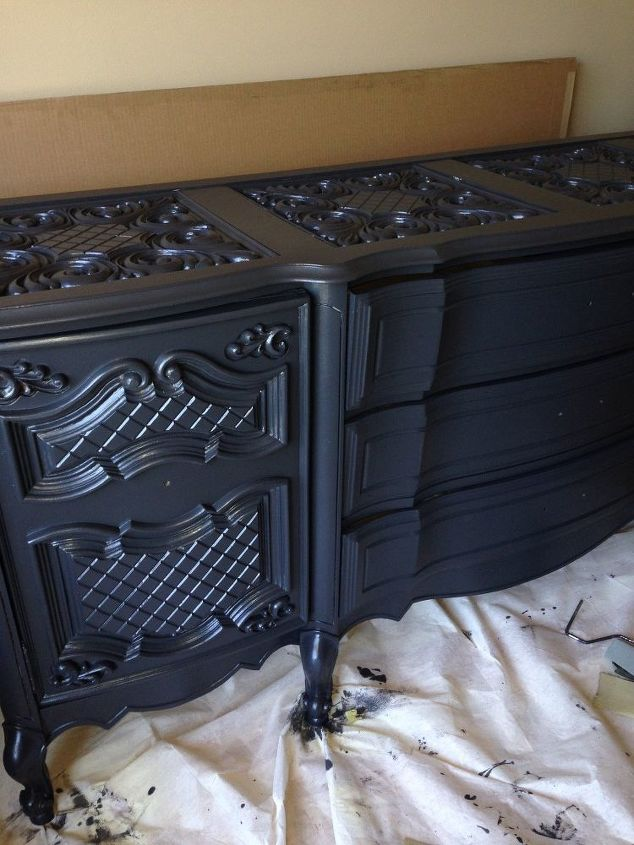 How To Paint Furniture: From Brown To Black