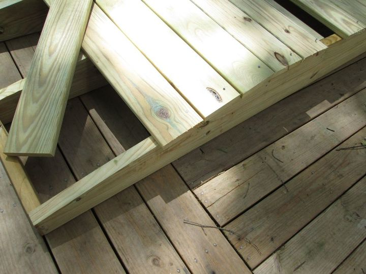 building a garden footbridge made easy , gardening, how to, landscape, outdoor furniture, woodworking projects