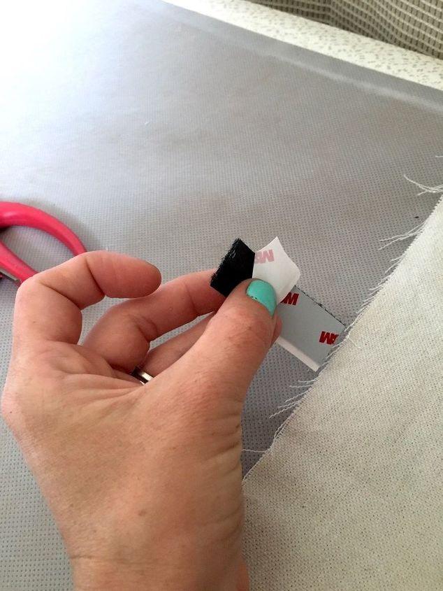no sew drop cloth bedskirt, bedroom ideas, reupholster