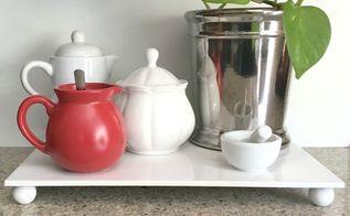 diy tile tray for less than 3, crafts, kitchen design, tiling
