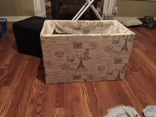 new life to garage sale trunk, organizing, repurposing upcycling, storage ideas, reupholster