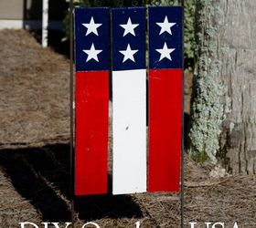 Superbe Diy Outdoor Usa Pallet Garden Flag, Crafts, Pallet, Patriotic Decor Ideas,  Seasonal