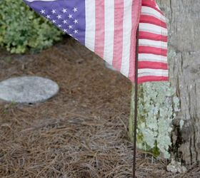 Ordinaire DIY Outdoor USA Pallet Garden Flag