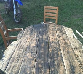 Dining Room Table, Doors, Painted Furniture, Repurposing Upcycling,  Woodworking Projects, Old