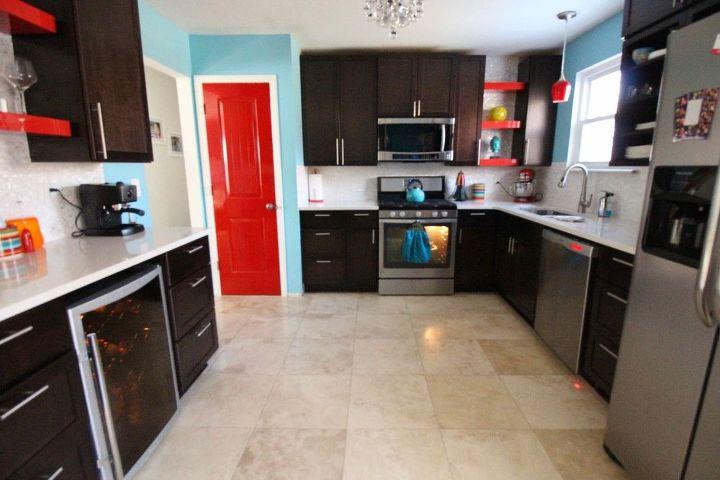 my colorful kitchen, kitchen design