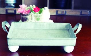 diy farmhouse style serving tray, crafts