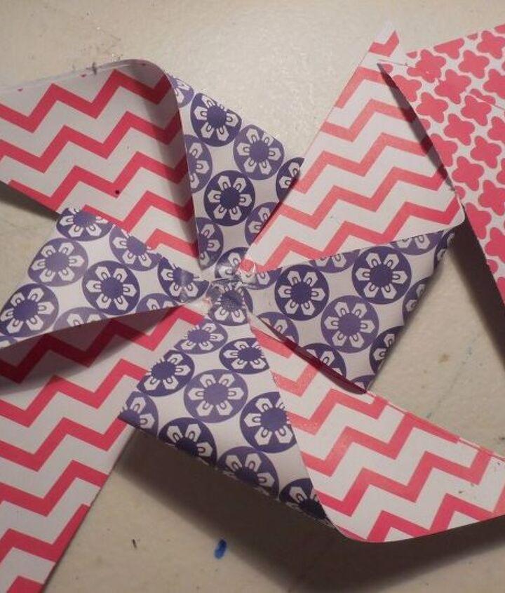 pinwheels, crafts, how to, patriotic decor ideas
