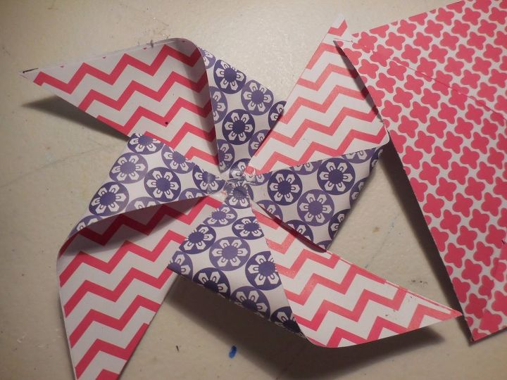 pinwheels, crafts, how to, patriotic decor ideas