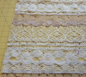 vintage lace table runner crafts dining room ideas how to