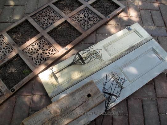 vintage shutters wall sconce diy hometalk
