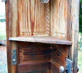 diy corner door shelf doors repurposing upcycling shelving ideas & DIY Corner Door Shelf | Hometalk