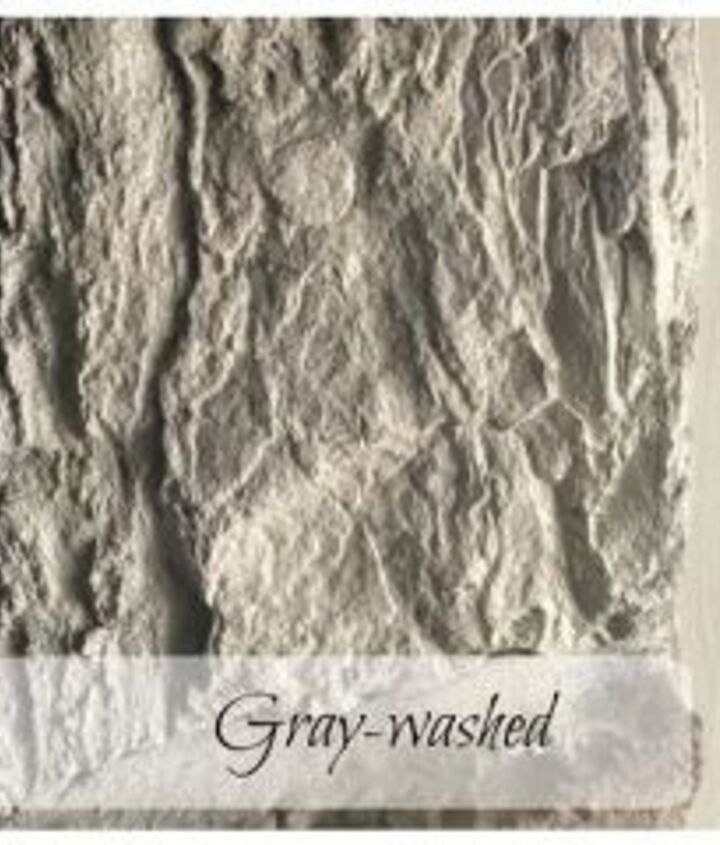 gray wash a stone fireplace, concrete masonry, fireplace makeovers, fireplaces mantels