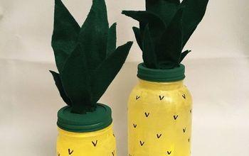 Mason Jar Pineapple  Luminaries