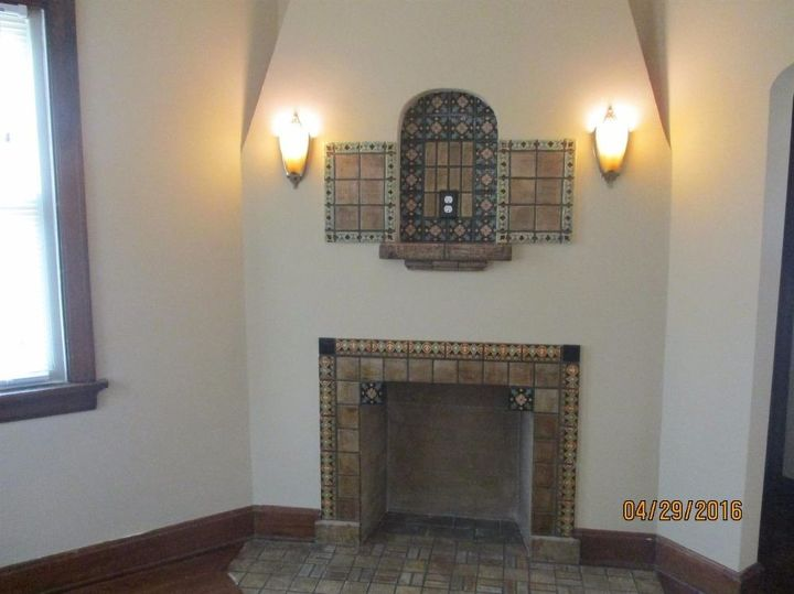 q removing tile from fireplace aurround, cosmetic changes, fireplaces mantels, home improvement, tiling