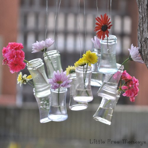 recycled spice bottle to wind chime and decor, crafts, outdoor living, repurposing upcycling
