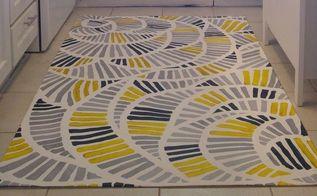 painted kitchen floor cloth, flooring, kitchen design