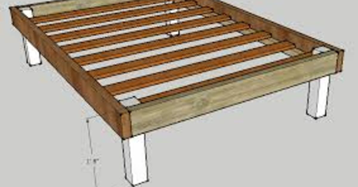 Reinforce a Basic Bed Frame (low-cost Fix) | Hometalk