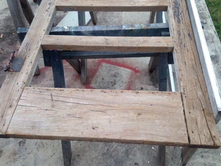 q resize a screen door , doors, woodworking projects, Old screen door