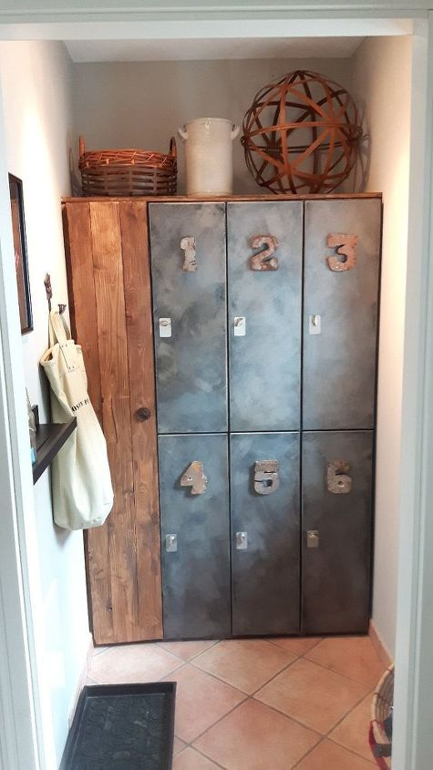 laundry closet to mudroom for 24, closet, diy, foyer, storage ideas