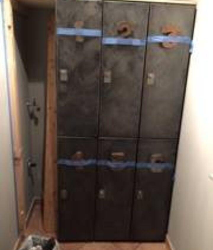 laundry closet to mudroom for 24, closet, diy, foyer, storage ideas