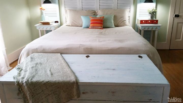a saltwash ed beachy distressed look, how to, painted furniture, painting, repurposing upcycling