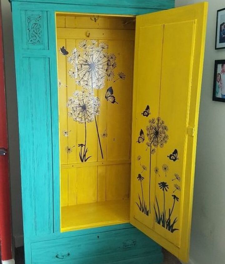 a little more magic unfolds, painted furniture