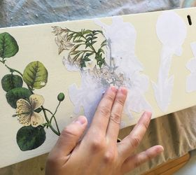 Captivating Floral Inspired Decoupaged Image Transfer Dresser, Decoupage, How To,  Painted Furniture