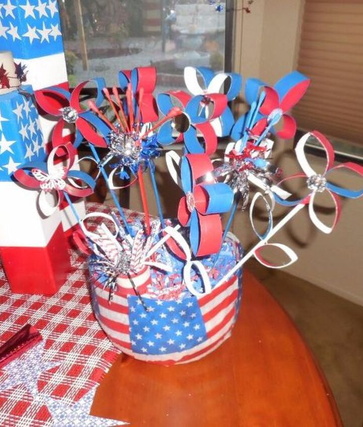 celebrating 4th of july , crafts, how to, patriotic decor ideas, seasonal holiday decor