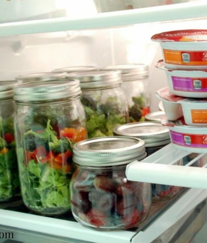 s want an organized fridge try this today , appliances, organizing, Pack snacks and lunches ready to go