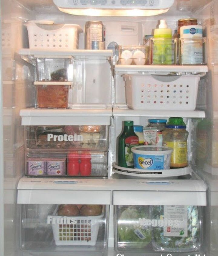 s want an organized fridge try this today , appliances, organizing, Group similar items so you know where to look