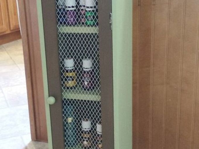 cd tower gets a new purpose, organizing, repurposing upcycling