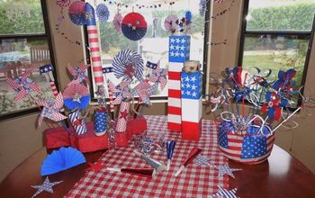 celebrating 4th of july , crafts, how to, patriotic decor ideas, seasonal holiday decor