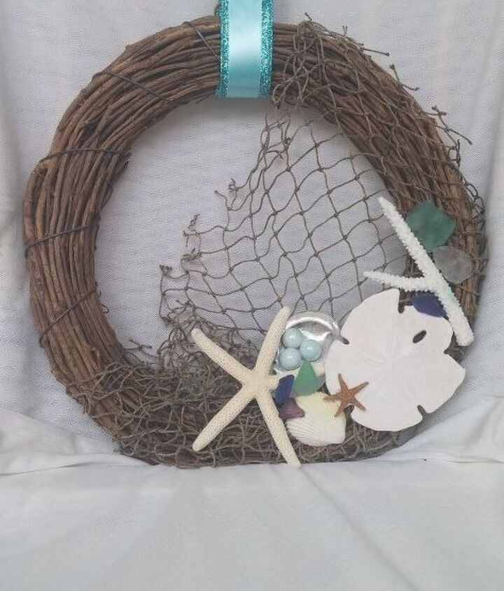 making a summer wreath from my collection, crafts, how to, seasonal holiday decor, wreaths