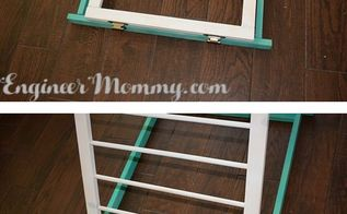 diy wooden drying rack, diy, how to, laundry rooms, woodworking projects