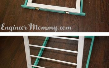 DIY Wooden Drying Rack