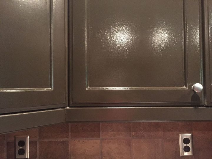Help! Satin oil based looks like semi gloss | Hometalk