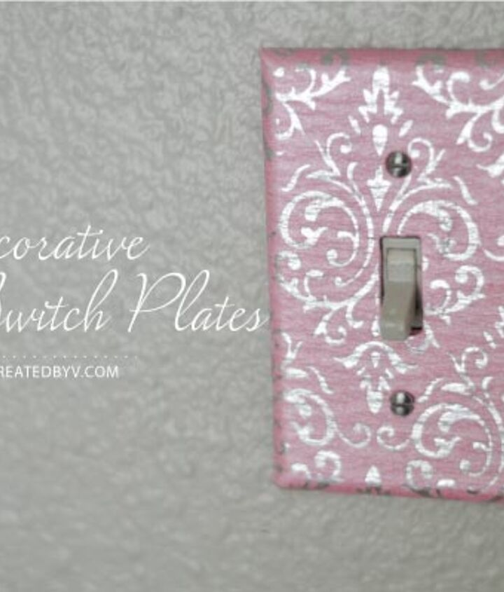 How To Decorate Your Switch Plates Hometalk