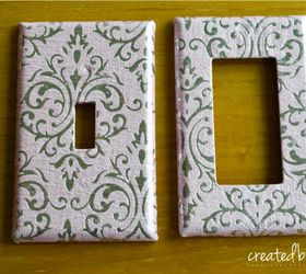 diy decorative switch plates outlet covers crafts decoupage