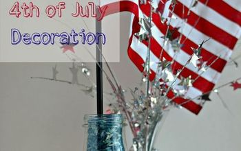 Easy 4th of July Table Top Decoration!