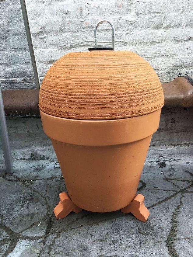 Terra Cotta Pot Smoker Hometalk