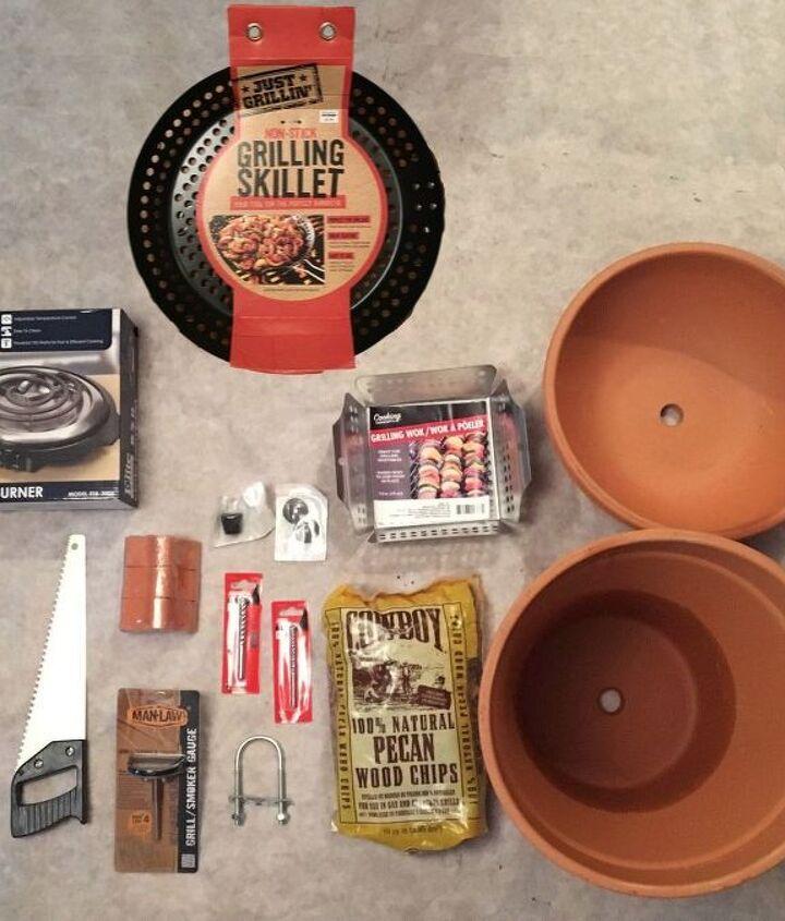 terra cotta pot smoker, appliances, concrete masonry, crafts, gardening, go green, outdoor living, plumbing, tools