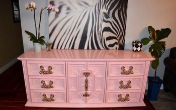 Updating a Crappy 1970's Ornate Dresser-lots of Tips and How To's!