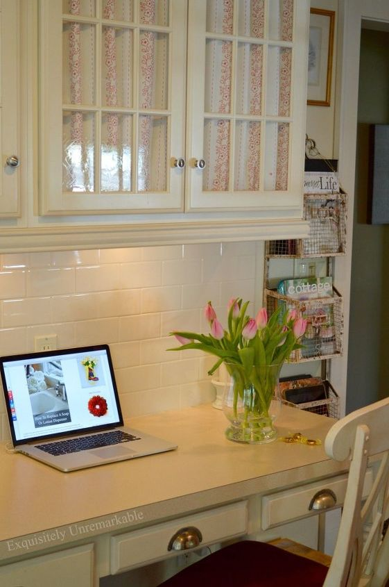 making messy cords disappear, home office, how to, organizing